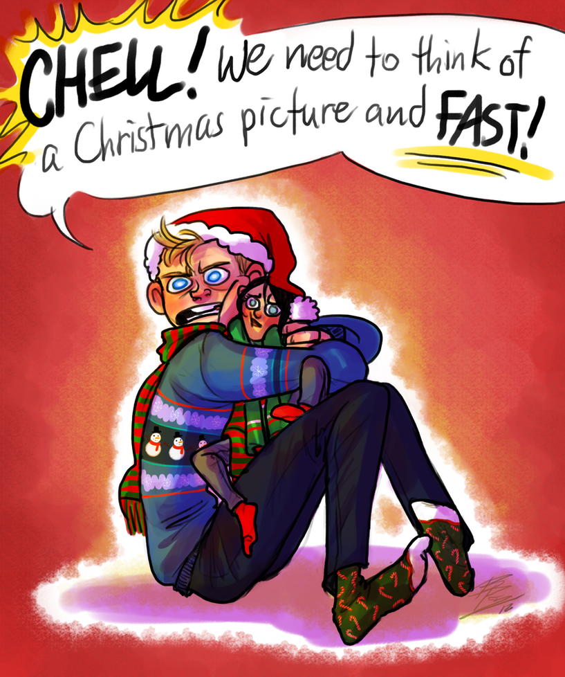 QUICK I NEED A CHRISTMAS PICTURE FOR CHRISTMAS ACK by Bonka-chan