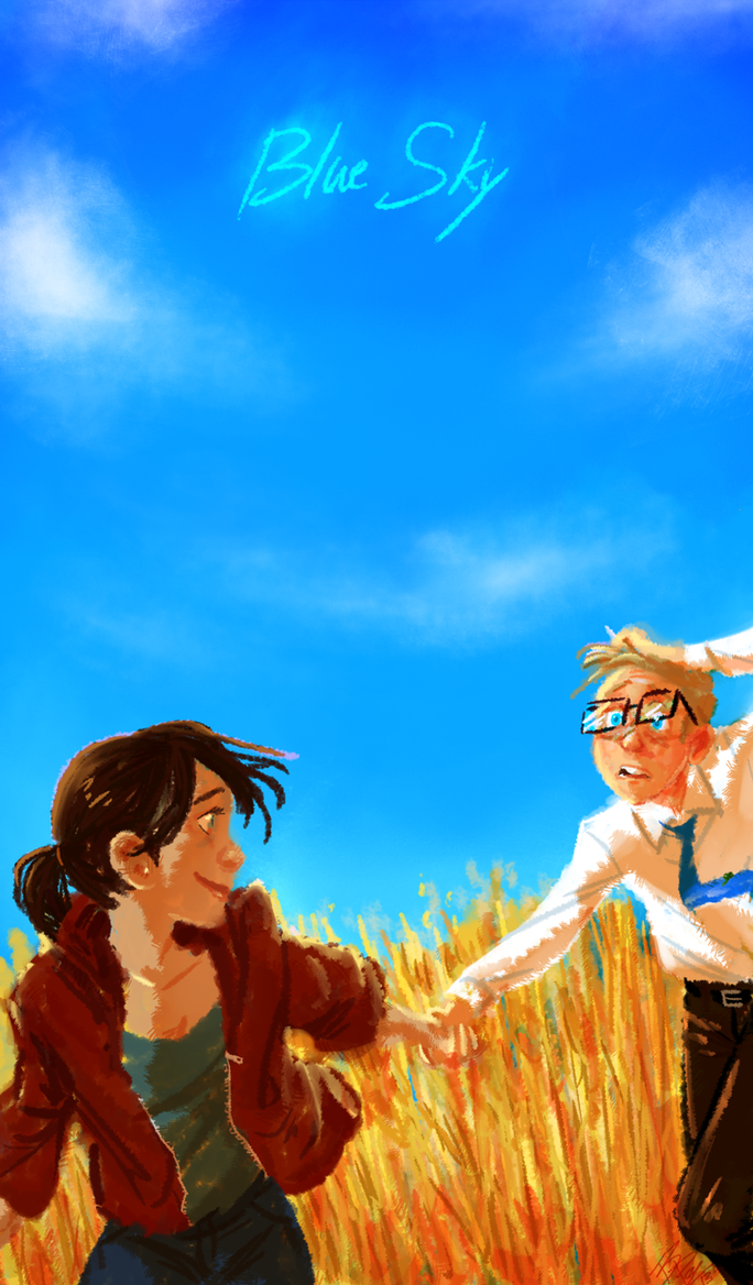 Blue Sky by Bonka-chan