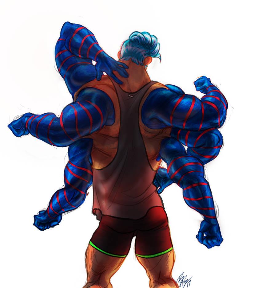 Mutant Backside Clothes