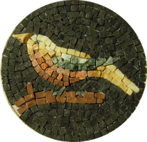 Bird mosaic by VendemiaireWings