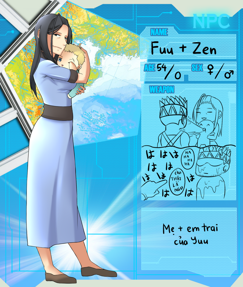 VIE NPC: Fuu + Zen by ItakuShine