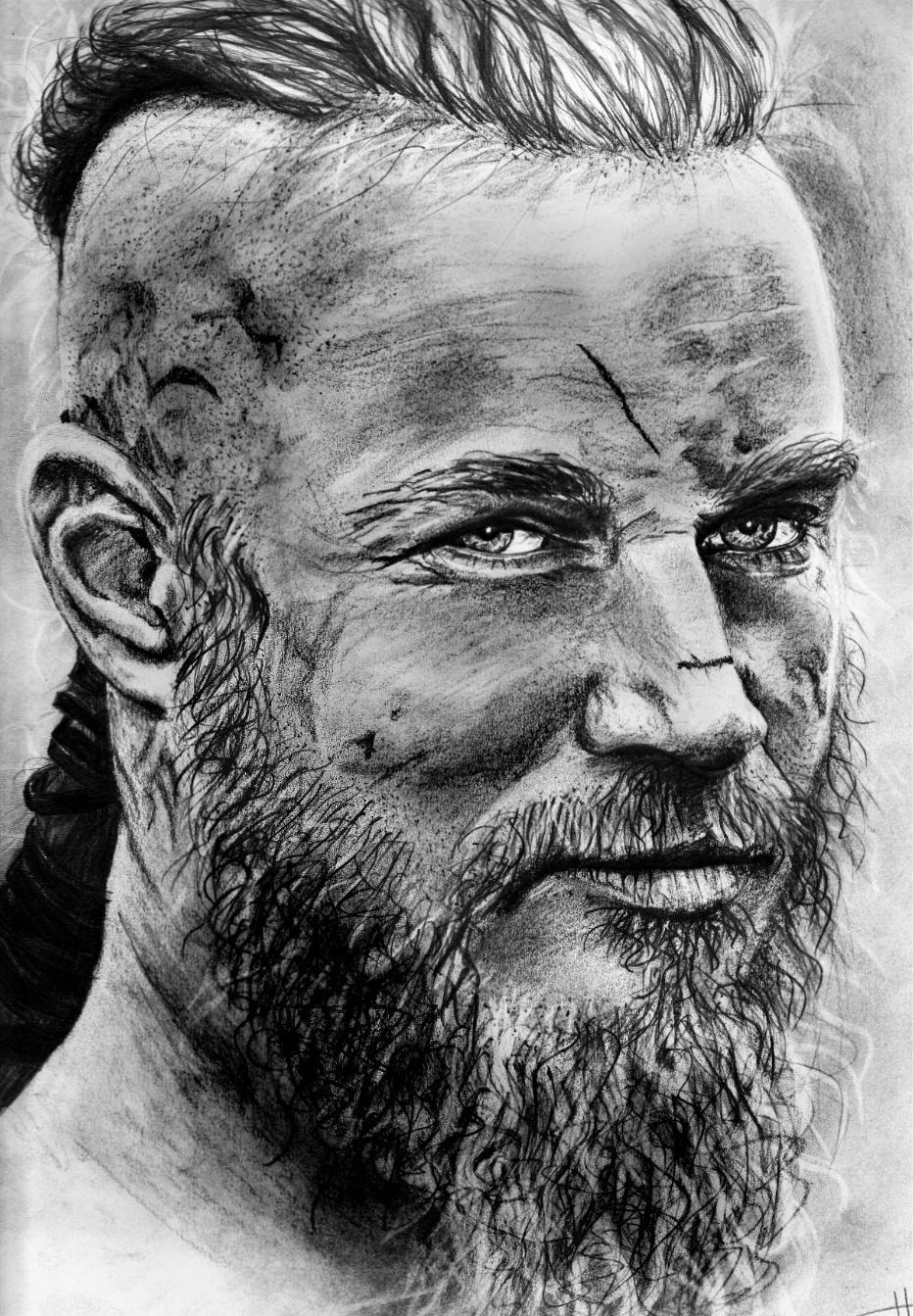 Ragnar Lothbrok By Larkossah On DeviantArt