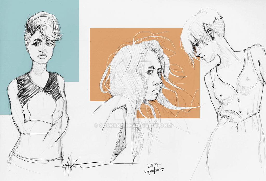Sketch_Dump_Girls by Cordron