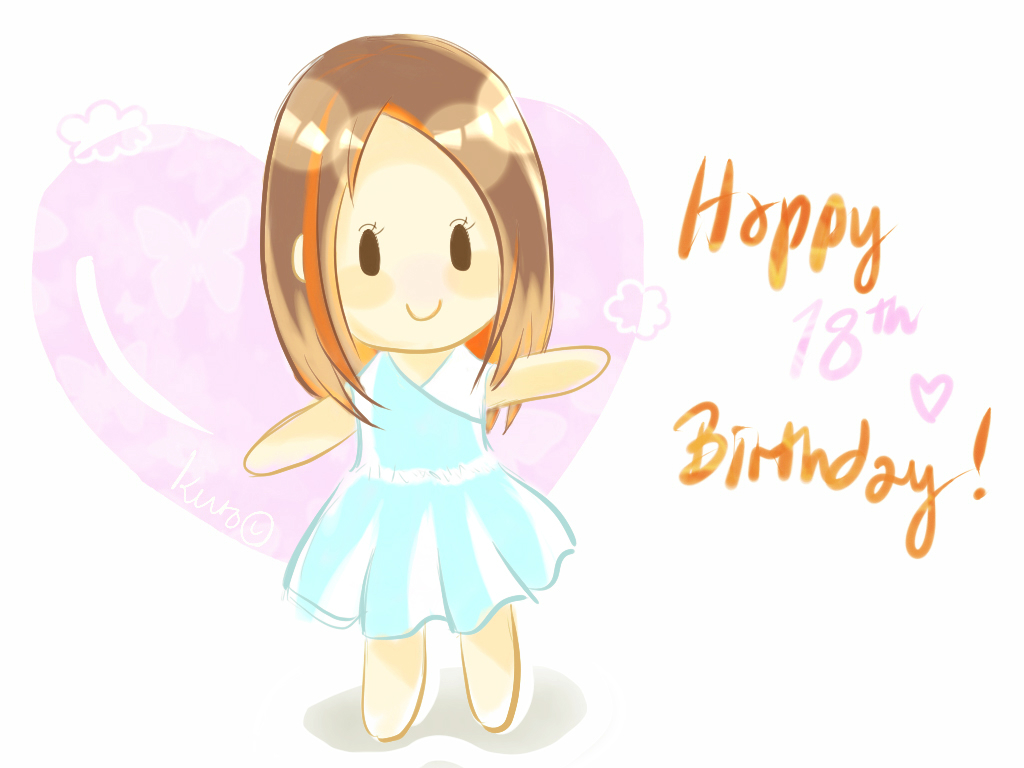 A lil' Birthday Art by KurotsukiKurotsuki