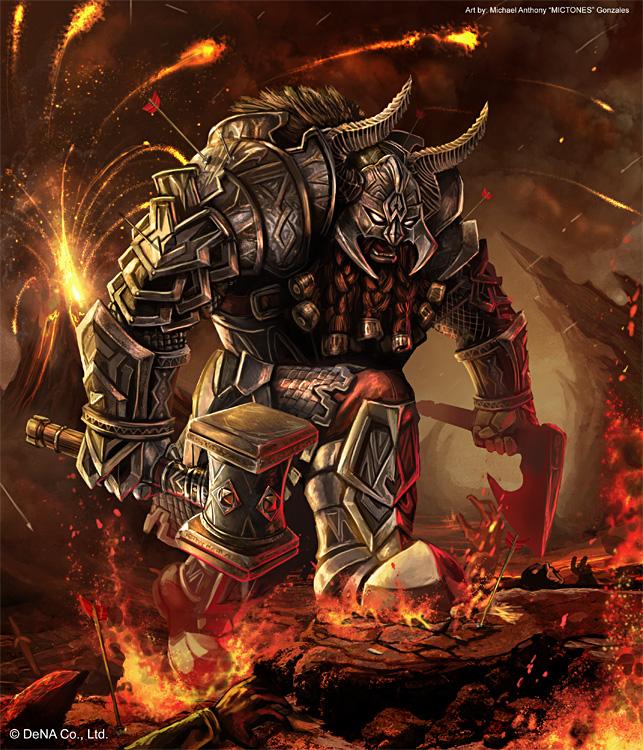 Dwarven Centurion by mictones