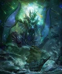 Ghost sea huge devil