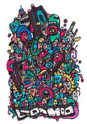 Doodles Meeting by Nikolajeva