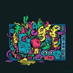 TV-Doodle by Nikolajeva