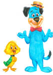 Huckleberry Hound and Yakky Doodle Duck