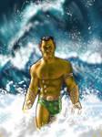 Prince Namor, The Sub-Mariner by Hognatius
