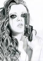 Shot a man down by Cora-Tiana