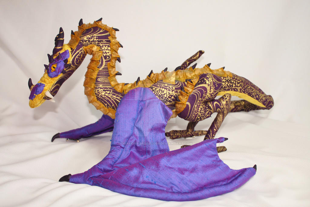 Ooak Handmade Shoulder Dragon Amaranthia by DragonForge311088