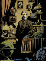 Jules Verne by RicardoPelaez