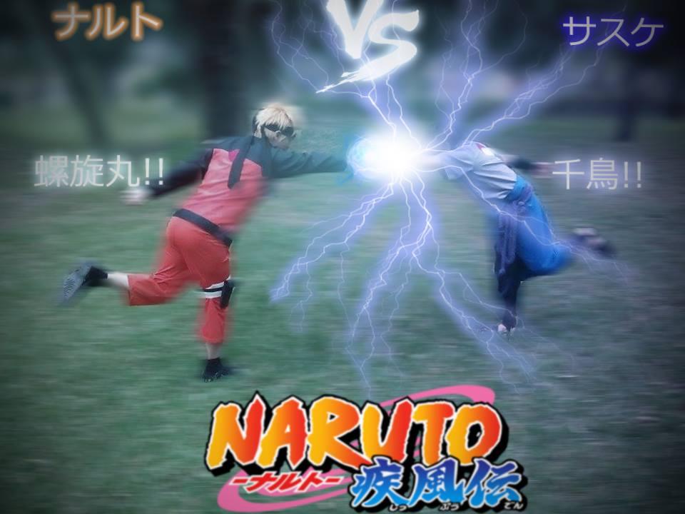 Rasengan VS Chidori by UchihasasukeMS