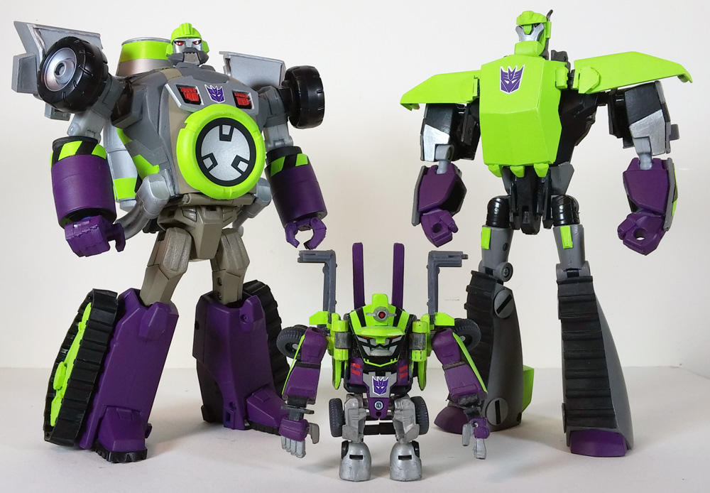 Custom Transformers Animated Mixmaster