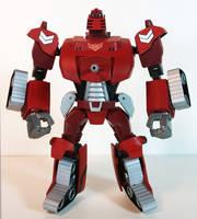 Transformers Animated Warpath by BadLamprey