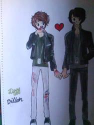 Dillon x Ziggy by xXxWOLFRAMxXx