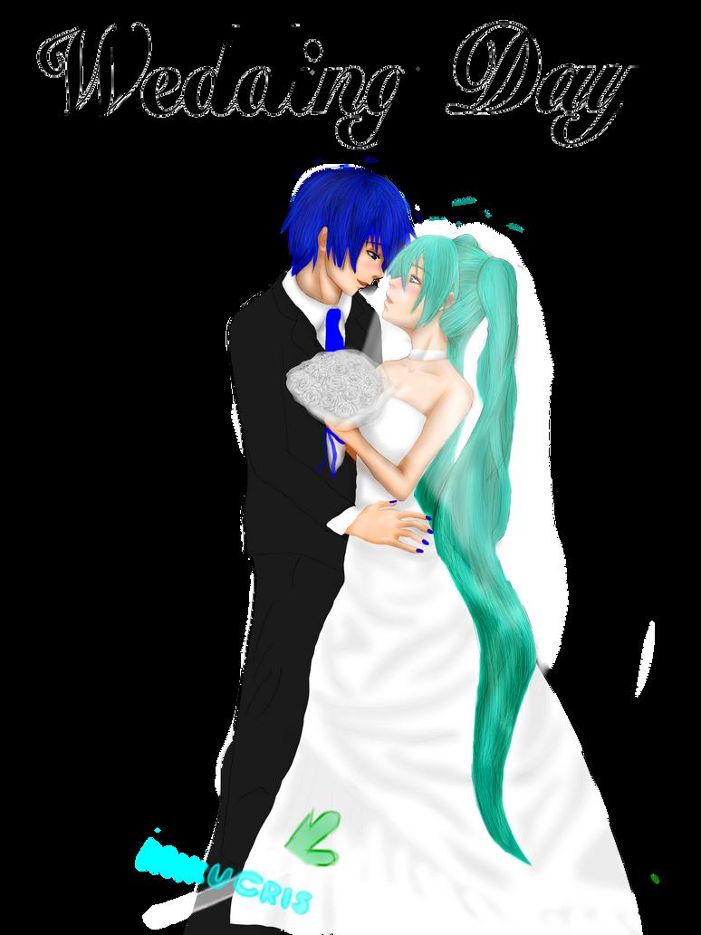 Wedding Miku X Kaito by MikuCris