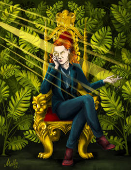 Crowley on the Throne