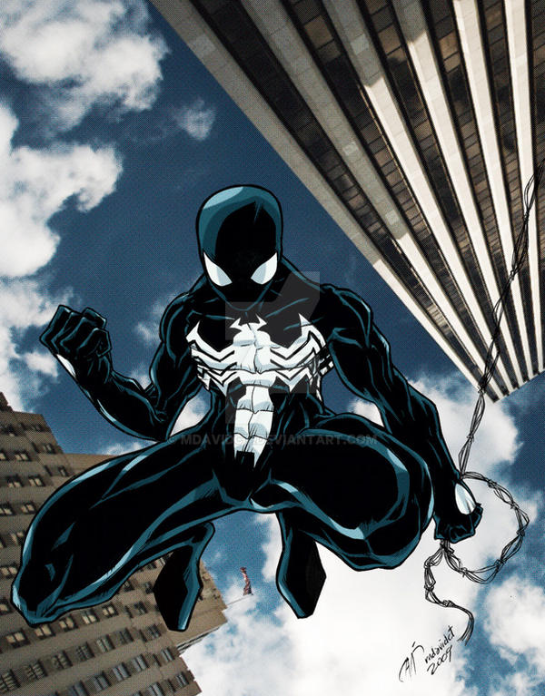 Spiderman black costume by mdavidct on DeviantArt