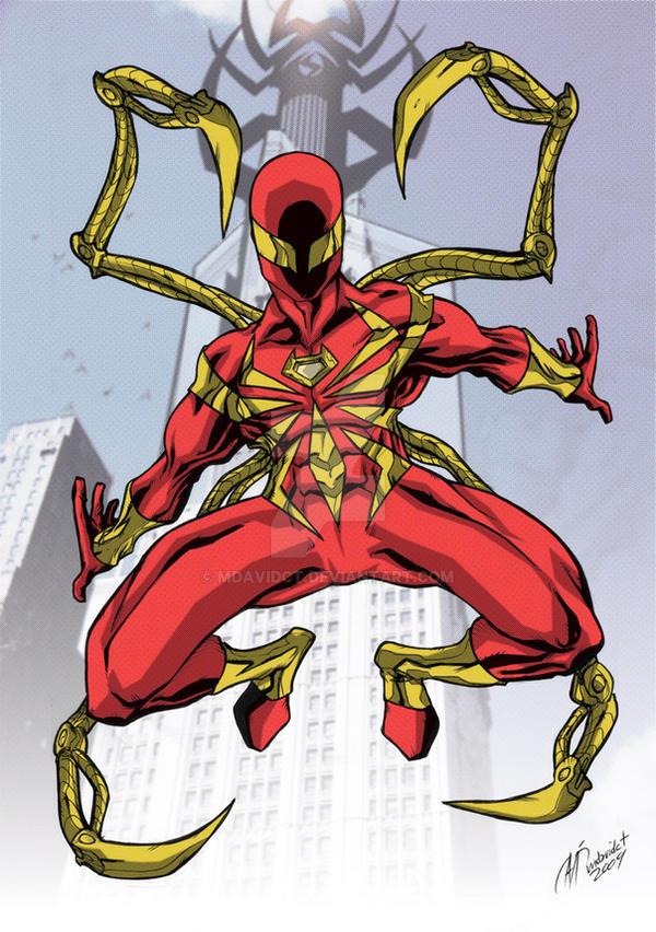 Iron Spider By Mdavidct On Deviantart