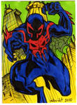 Sketch Cards Spiderman 2099
