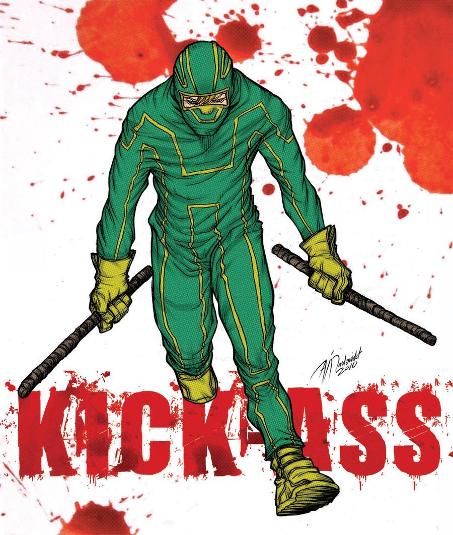 Kick-ass by mdavidct on DeviantArt