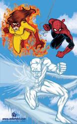 spiderman amazing friends by mdavidct