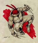 Raphael TMNT sketch
