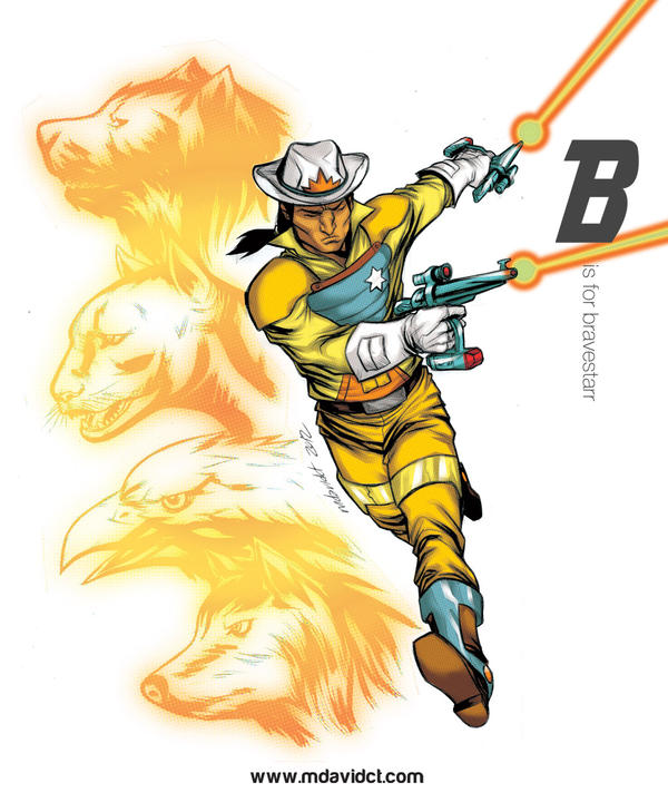 B is for Bravestarr by mdavidct