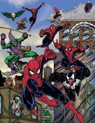 Spiderman 50 anniversary SDCC souvenir book 2012 by mdavidct