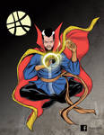 Doctor Strange SDCC souvenirbook by mdavidct