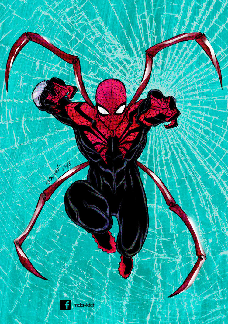 Superior Spiderman 2.0 by mdavidct