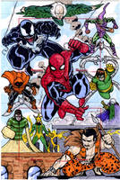 Spiderman versus by mdavidct