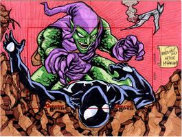 Green Goblin Victory by mdavidct