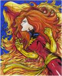 Dark Phoenix artist proof commission