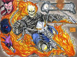 Ghost Rider sketch cover commission