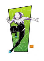 Spider Gwen by mdavidct