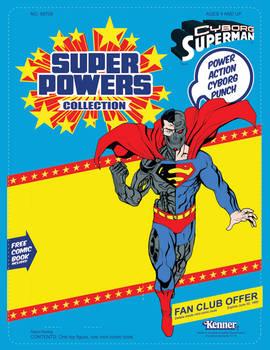 Cyborg Superman Custom Blister commission