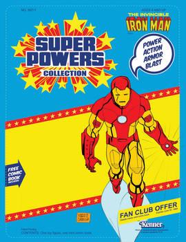 Iron Man custom blister