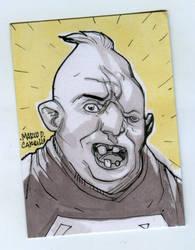 Sloth sketch card by mdavidct