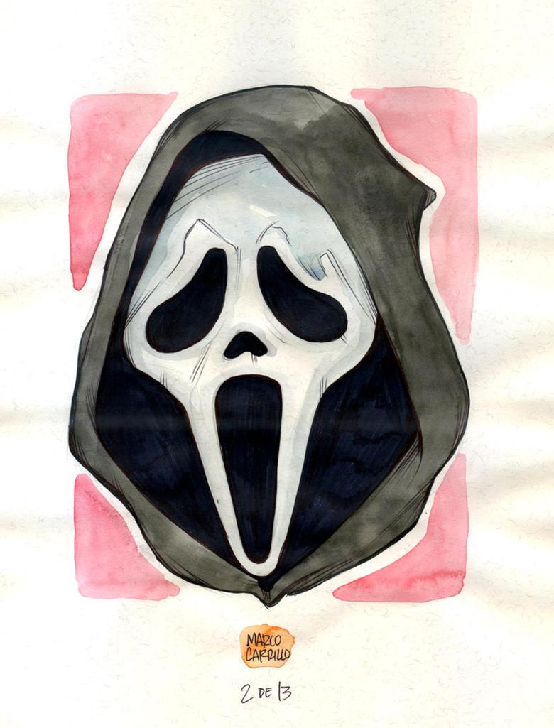 Modern Monsters 02 ghostface by mdavidct