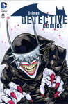 The Batman Who Laughs sketch cover