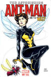 Antman and teh wasp sketch cover