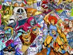 Thundercats custom sketch cover