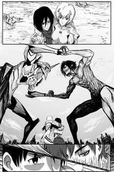 Eva Unit 01 -vs- Eren Titan