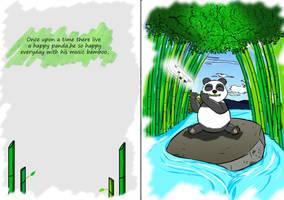 Panda by Aryaahumada