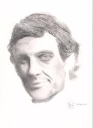 Portrait of Ayrton Senna by redkazuo