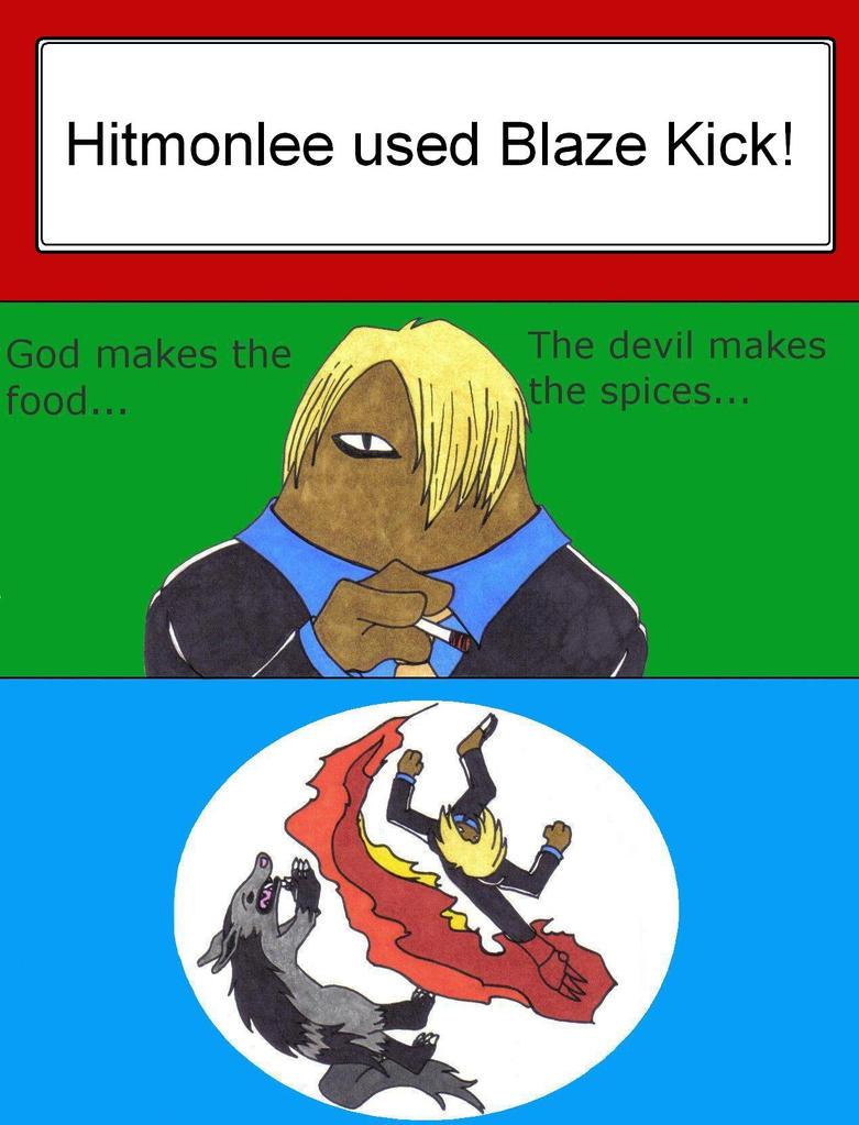 Blaze Kick (move) - Bulbapedia, the community-driven ...