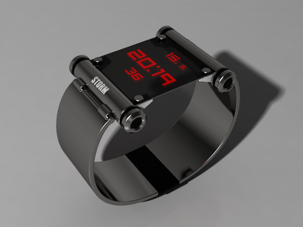 LED watch concept